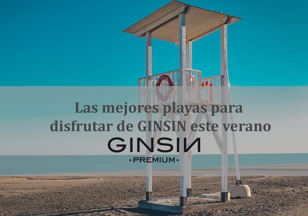 Las mejores playas para disfrutar de GINSIN este verano