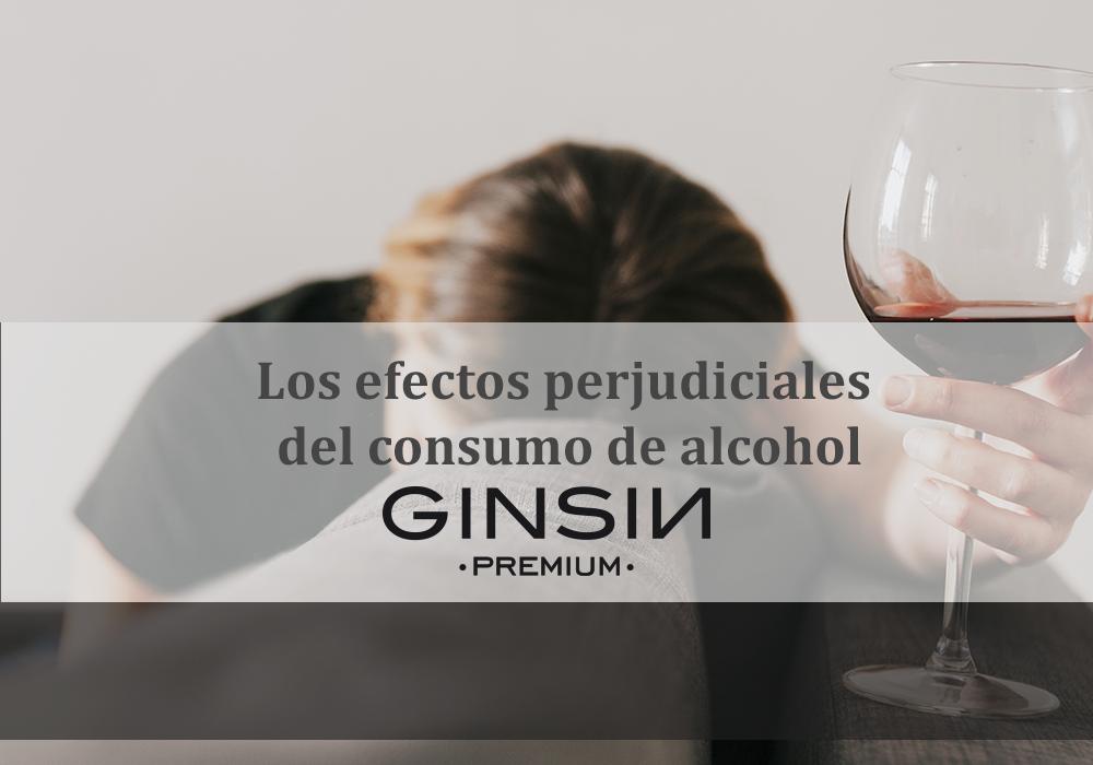 Los efectos perjudiciales del consumo de alcohol