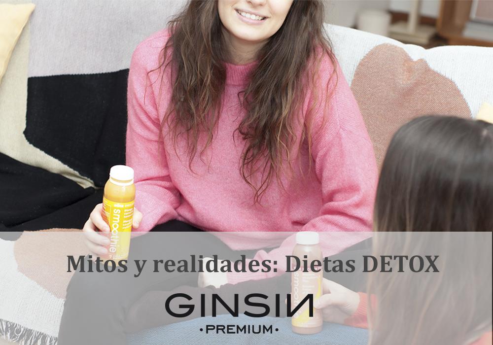 Mitos y realidades: Dietas détox