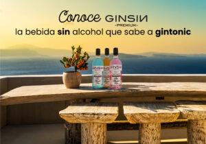 Conoce GINSIN PREMIUM, la bebida sin alcohol que sabe a gin tonic