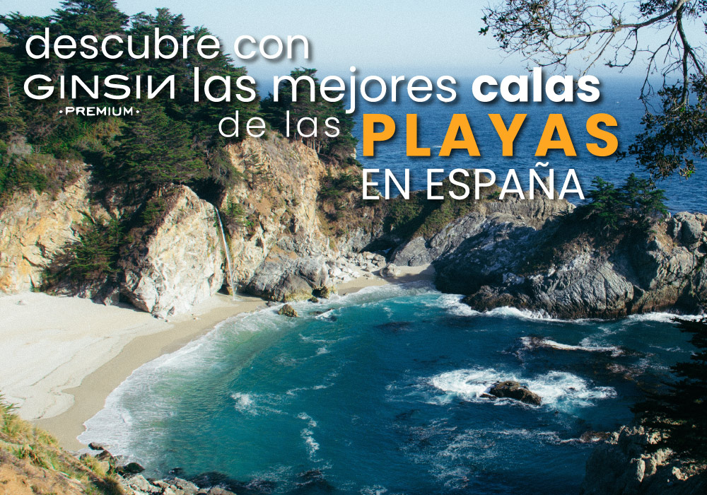 Descubre con GINSIN las mejores calas de las playas en España