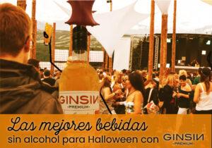 Las mejores bebidas sin alcohol para Halloween con GINSIN